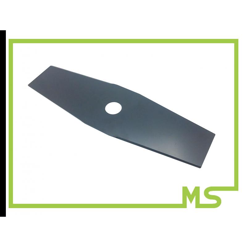 2 Zahn Freischneider Dickichtmesser Motorsense für Stihl FS61 FS90 FS80 FS81 FS106 255mm x 25,4mm Stärke 1,5mm