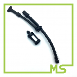 Benzinschlauch und Filter für Stihl MS200